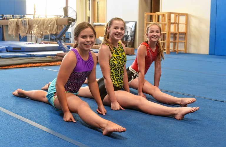 Young Gymnasts Learn Confidence Perseverance During