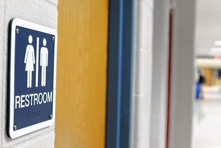 The recorder frontier ahead of the curve on gender for Gender neutral bathrooms in schools
