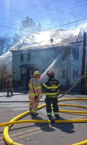 Multi Family Athol House Fire Sends At Least 8 To Hospital