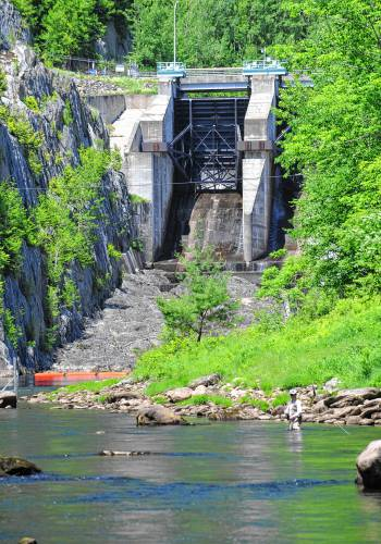 The recorder feds get trout study info on deerfield for Deerfield river fly fishing