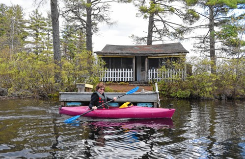 Isle of dreams: Orange couple buys island in Tully Pond