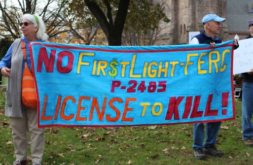 First Light protest, Question 1campaigninvigorate downtown Greenfield