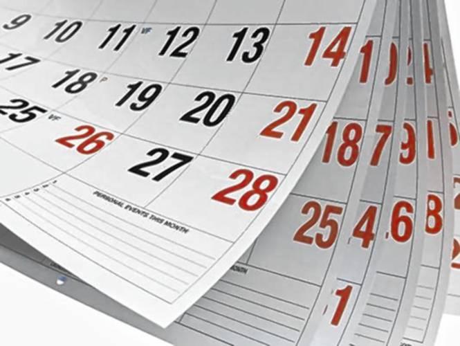 Resultado de imagen de calendar