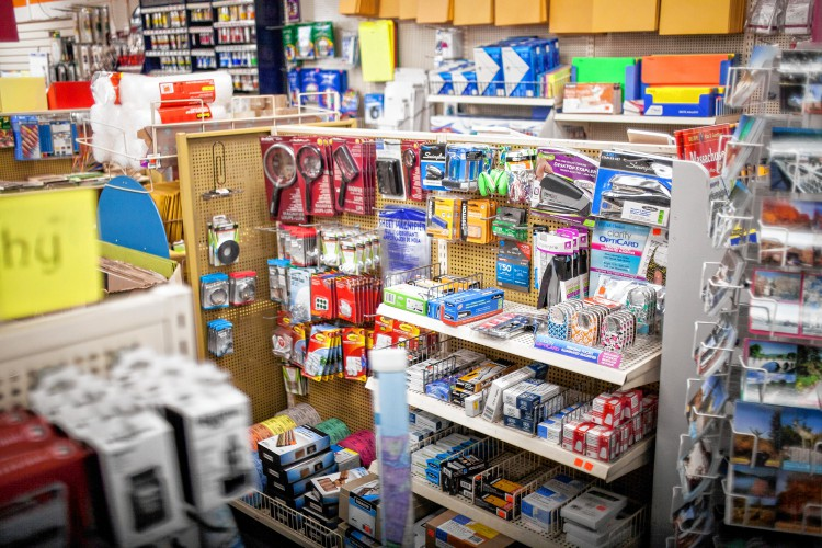Inside Baker Office Supply On Main Street In Greenfield Recorder Staff Andy Castillo This Image