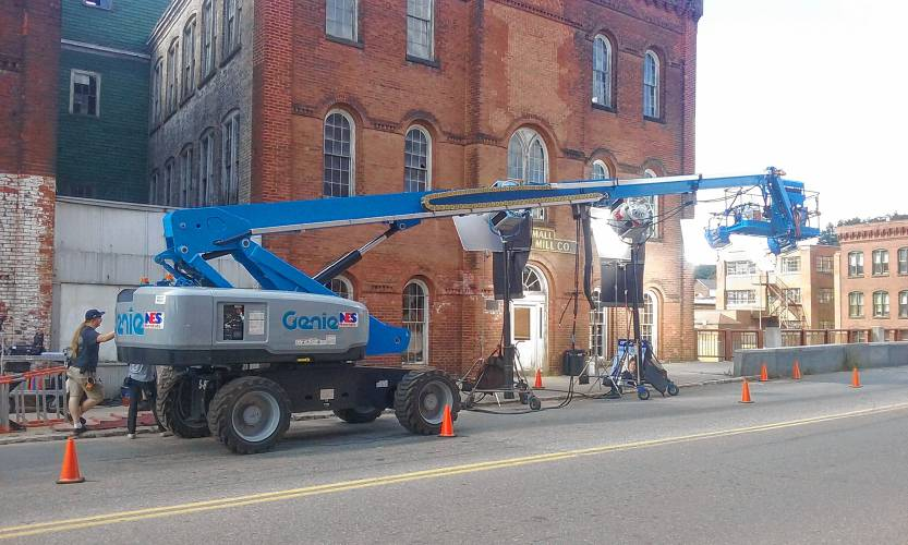 One Of The Two Brick Buildings Belonging To Gary H. Moise, Owner Of The  Orange Trading Co. On South Main Street, Was A Site Of Filming For U201cCastle  Rock,u201d An ...