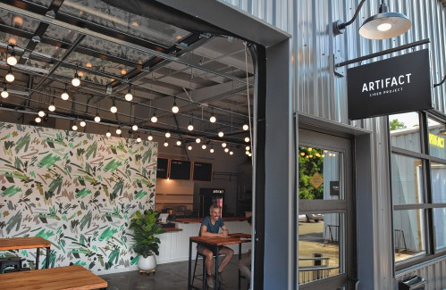 Inside Artifact Cider's new taproom in Florence