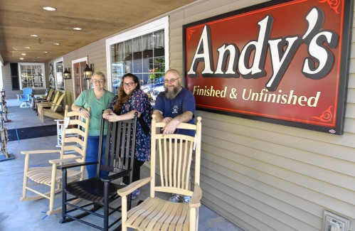 Andy S Co Owners Reflect On 40 Years Of, Unfinished Furniture Massachusetts