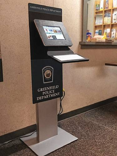 A Kiosk In The Greenfield Police Station Makes It More Convenient For Public To Come And File Records Requests Pay Or Eal Parking Tickets