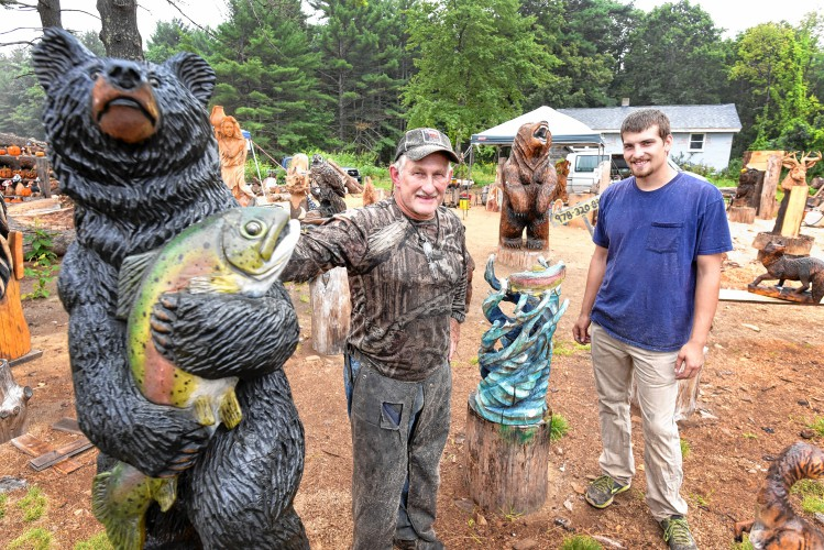 The recorder a craving for carving athol wood artists