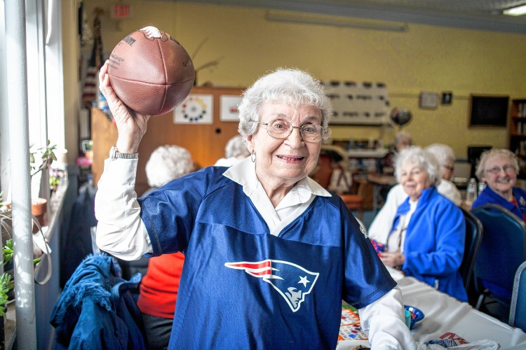 The Recorder Seniors Enjoy Pre Super Bowl Party