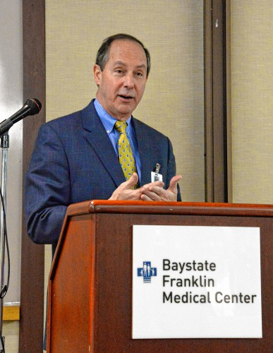 The Recorder - State grant to help Baystate Franklin reduce repeat ...