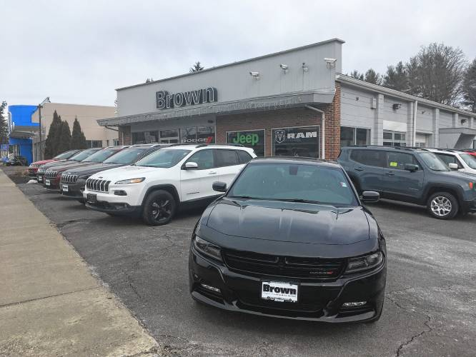 The recorder dealerships scramble ahead of temporary rmv for Brown motors greenfield ma service