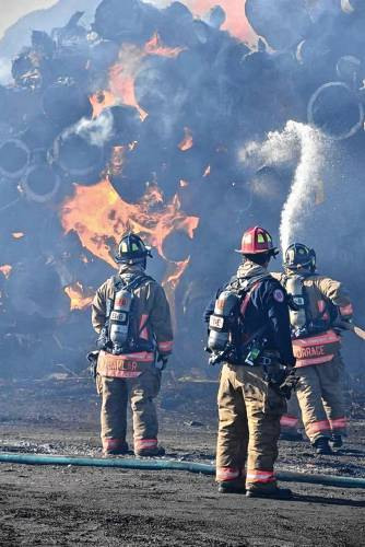 Editorial: Monday Shorts: County firefighters answer the call