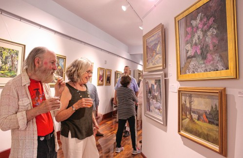 Art museum sees 'fabulous' opening night in Northfield