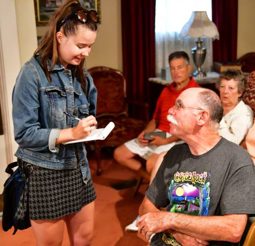 The Recorder - Residents express excitement over 'Castle