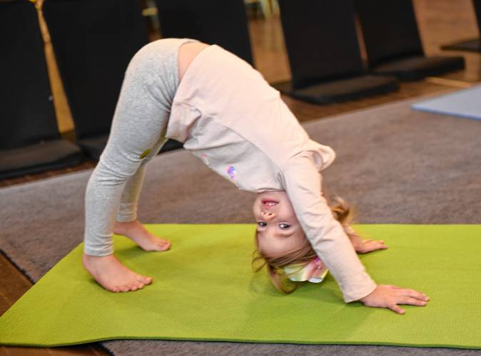 The Recorder A Lifelong Tool Local Children Reap Benefits Of Learning Yoga