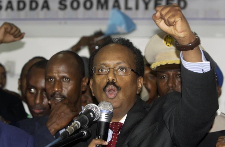 The Recorder - Dual Somali-US citizen elected president of Somalia