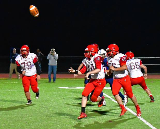 The Recorder - Special delivery: Fake punts lead Athol in 16