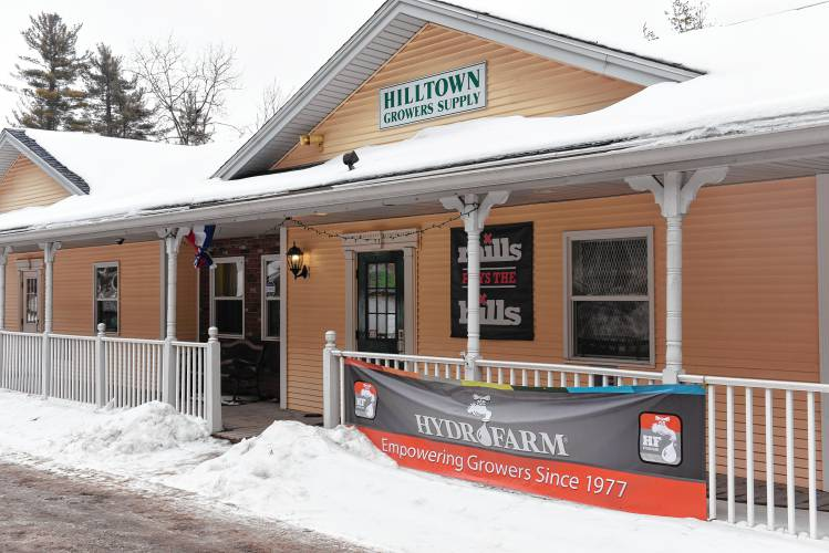 The Exterior Of Hilltown Growers Supply On Route 2 In Shelburne In The  Arrowhead Shops. Recorder Staff/Paul Franz