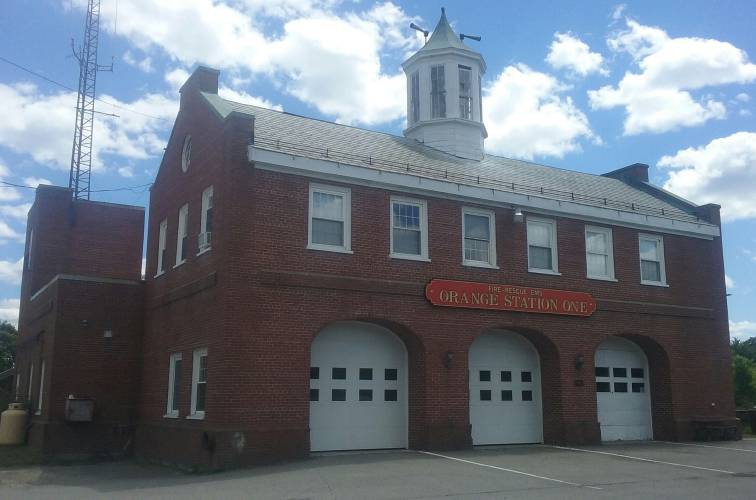 The Recorder - FEMA awards Orange Fire Department with over