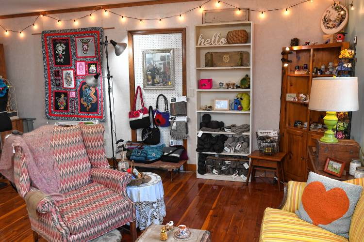 The Recorder New Craft Shop Adds To Fabric Of Deerfield