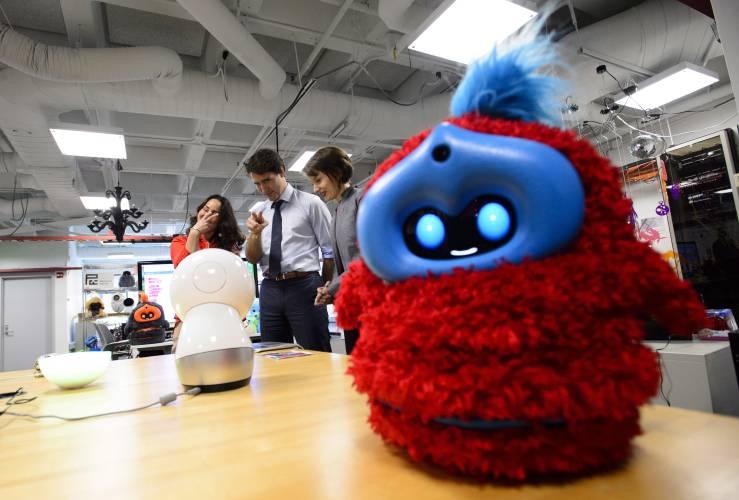 The Recorder - Trudeau touts Canada's AI credentials at MIT