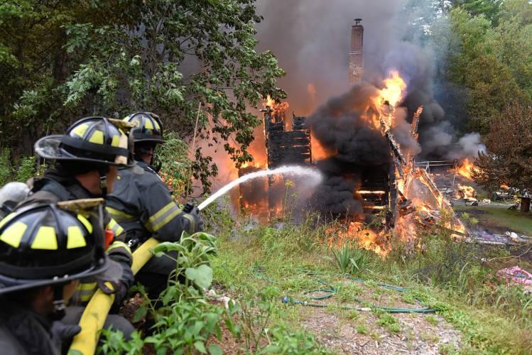 The Recorder - Man, son escape burning home in Orange