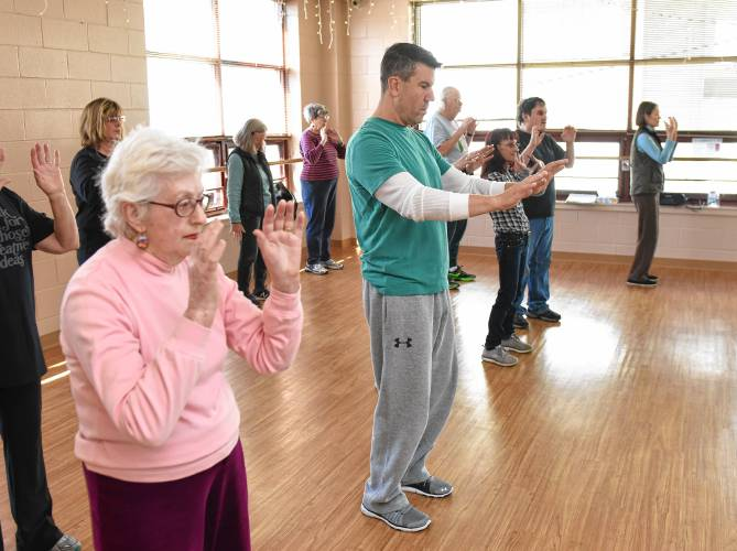 The Recorder - The next yoga? Franklin County residents