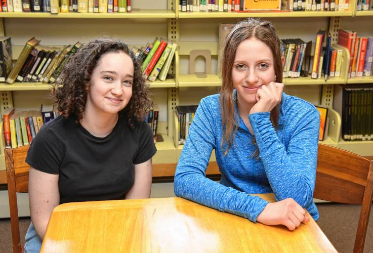 The Recorder - Academy at Charlemont lit mag aims to link students
