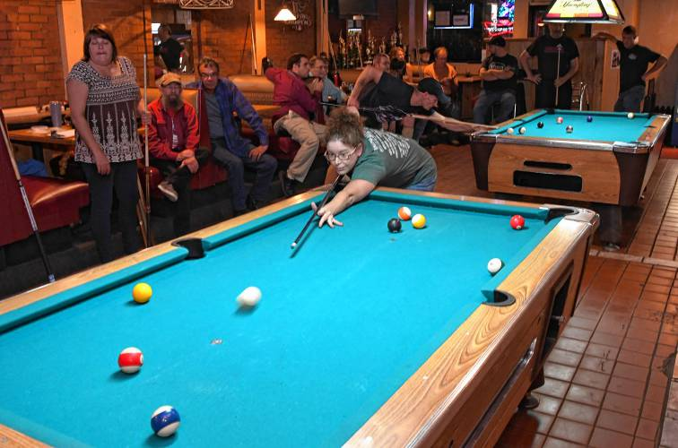The Recorder - Chalk it up to fun: Franklin County Pool League is