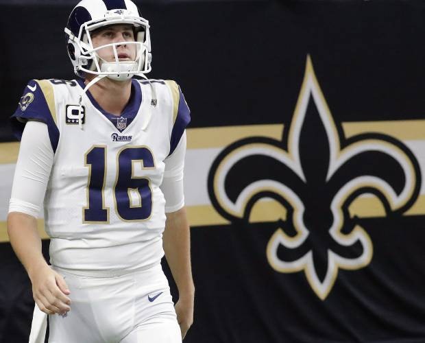 dcd46bb17251 The Los Angeles Rams  Jared Goff was 7 years old when the Tom Brady won his  first Super Bowl with the New England Patriots in early 2002.
