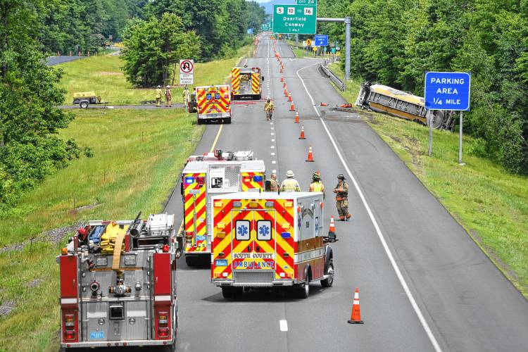 The Recorder - Driver dies in I-91 tanker truck rollover