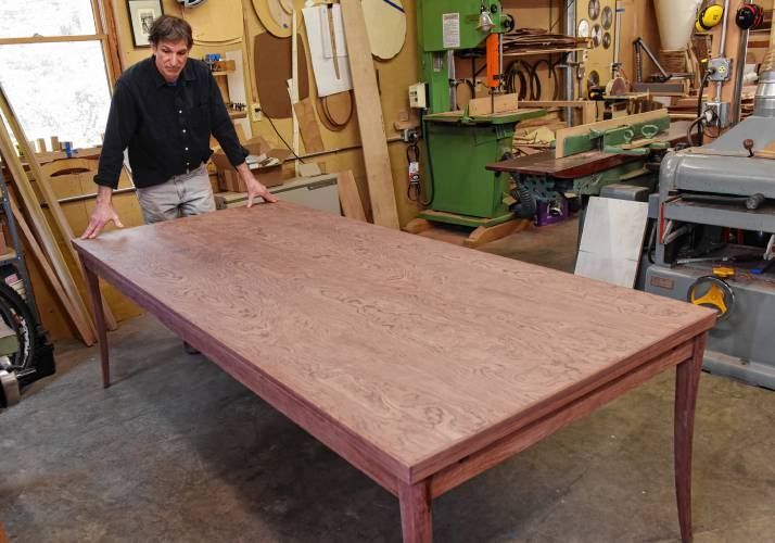 The Recorder Shelburne S Timothy Coleman Brings Creative Ideas To Life Through Furniture Business
