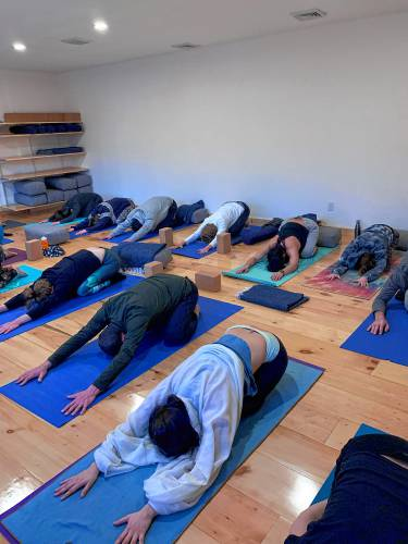 The Recorder - New yoga studio positions itself for cannabis