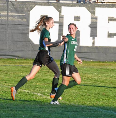 Girls Soccer: Transfer Fitting In Well With
