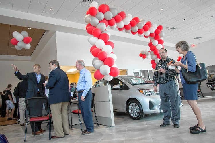 Toyota Of Greenfield >> The Recorder Ford And Toyota Of Greenfield Holds Grand Opening