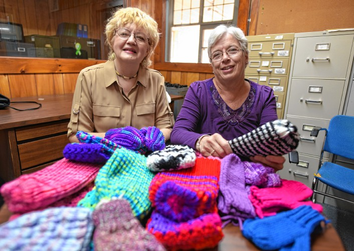 The Recorder - Knitters help Warm the Children through