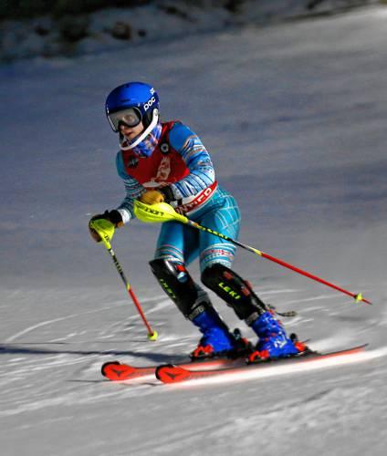 Alpine Ski: Frontier's Coriann Delaney