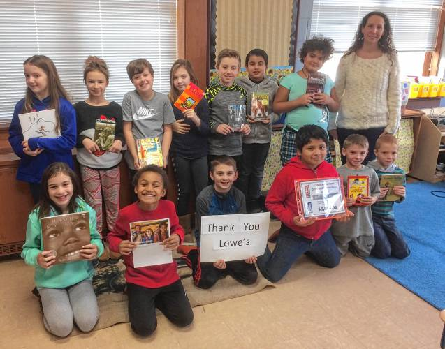 the recorder - sheffield teacher gets lowe's grant