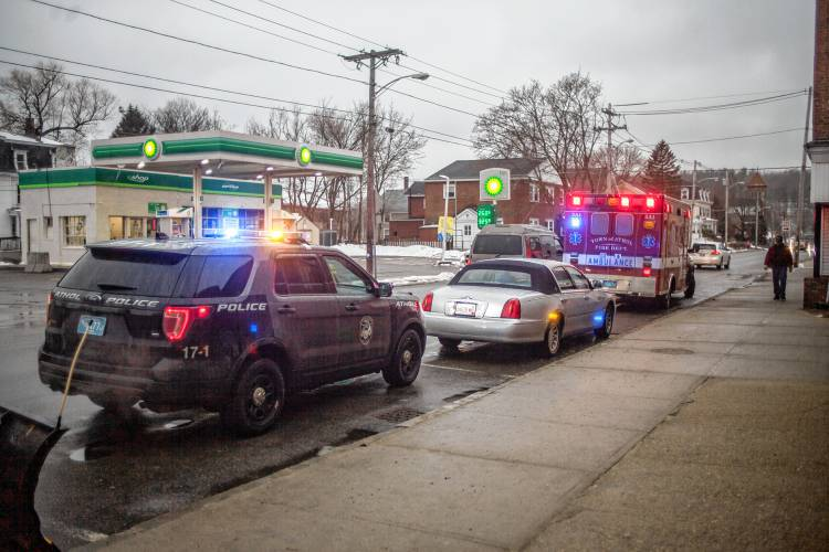 The Recorder - 3 cars involved in crash near Athol post office