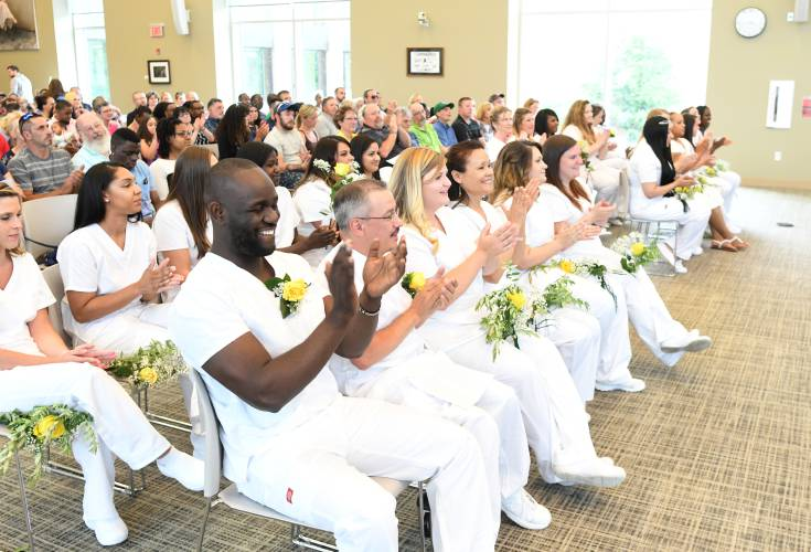 The Recorder - 2 dozen graduate from GCC practical nursing ...