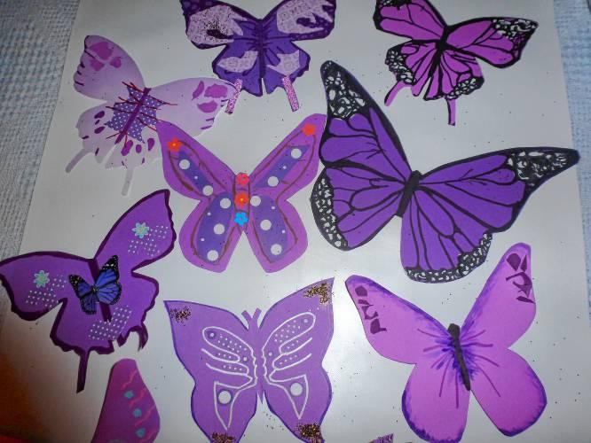 The Recorder Purple Butterflies Raise Awareness For Lupus