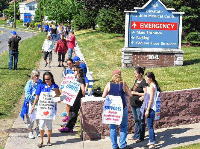 The Recorder - Hospital official: Nurses strike may have been