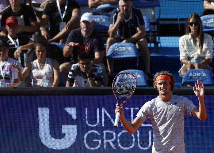 The Recorder Virus Cases At Novak Djokovic S Event Put Sports Under Scrutiny