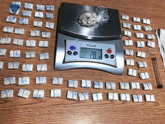 The Recorder - Two arrested on drug charges in Greenfield
