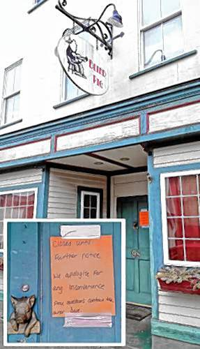 The Recorder - The Blind Pig in Athol closes