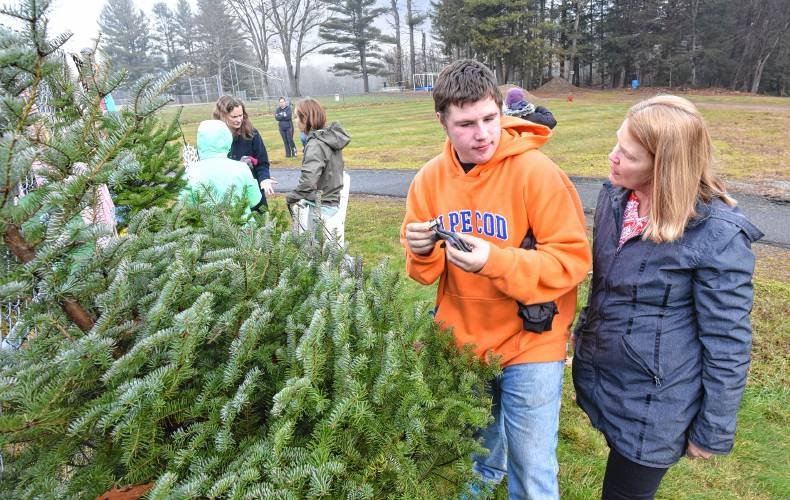 the mary lyon foundation is sponsoring a free warm clothing and christmas tree pick up at their location at the mohawk trail regional school - Free Christmas Trees For Low Income Families