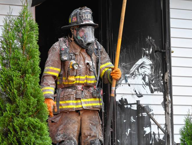 The Recorder - Fire damages Greenfield home Friday morning