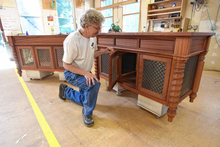 The Recorder After Decades Of Woodworking Northfield S Michael Humphries Still Ingrained In His Craft